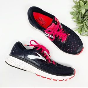 Brooks Glycerin 16 pink black running shoe sz 10